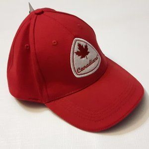 Red Canadiana Hat L/XL